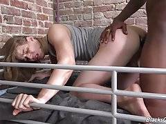 Let`s face it. If you`re a white boy, and you`re not some hulking bad ass dude who can take care of himself, chances are when you`re tossed into a holding cell with horny blacks dude as your cellie, he`s gonna make you his bitch.