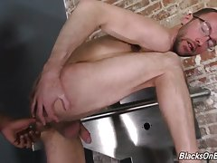 Alex will do as Zeero says, which includes dropping to his knees in order to make Zeero`s dick grow. Once that beautiful, uncut cock is rock solid, Zeero will turn his attention to Alex`s virgin ass.